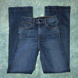 Rag & Bone Womens Dark Wash Bootcut Stretch Pants